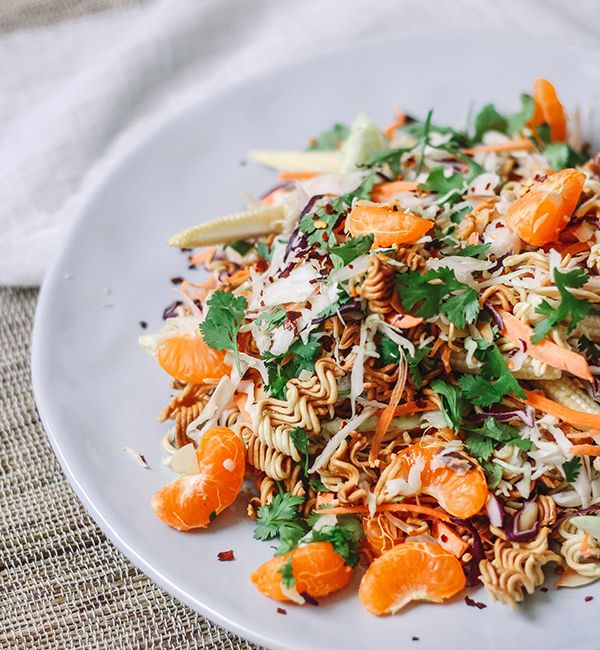 Citrus Ramen Noodle Salad