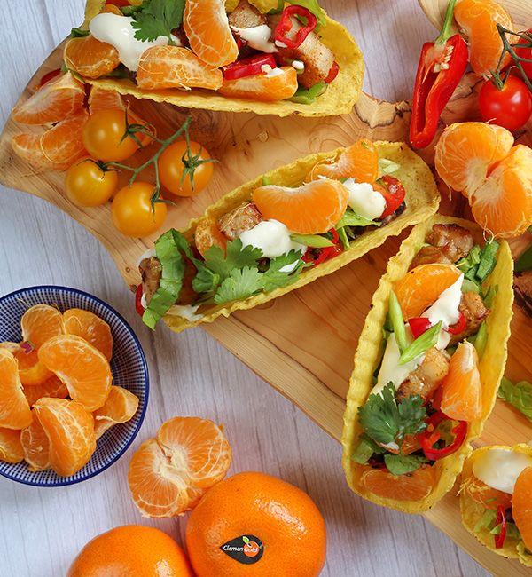 ClemenGold<sup>®</sup> Mandarin Teriyaki Pork Tacos