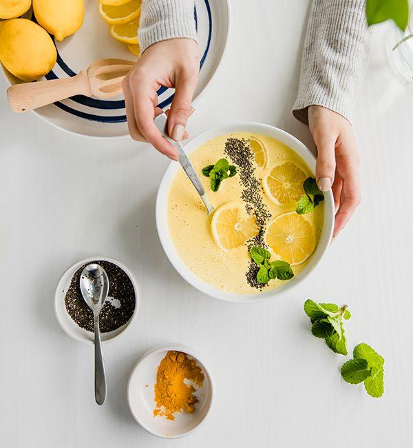 Creamy LemonGold<sup>®</sup> Smoothie Bowl