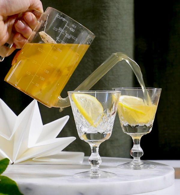 Warming LemonGold<sup>®</sup> Hot Toddy
