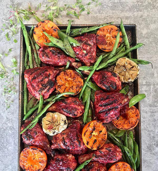 Tandoori Chicken & ClemenGold<sup>®</sup> Sheet Pan