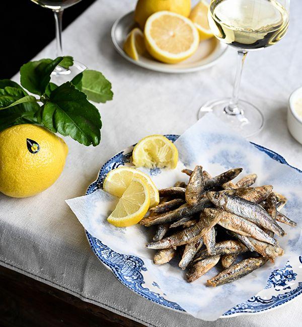 Whitebait With Roasted LemonGold<sup>®</sup> Aioli
